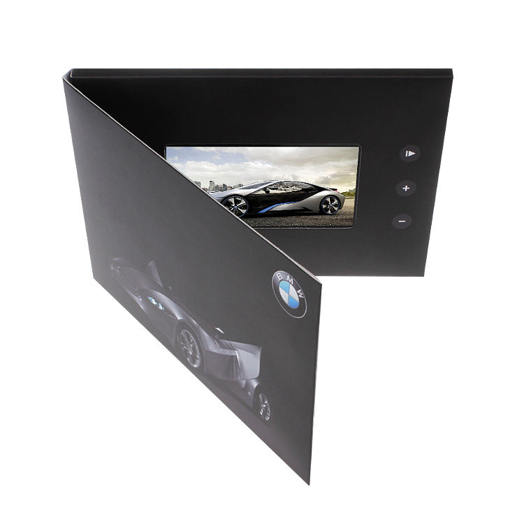 открытка с жк экраном воплощать