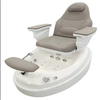 Wonderful design fiber reinforce plastic basin with high quality leather pedicure chair