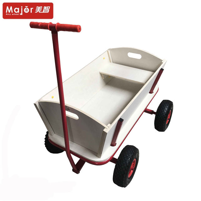 Waterproof Canvas Shopping Travel Wagons Wheels Suppliers Suitcase Baby Dump Cart Trolley With 4 Wheels