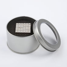 5mm square permanent magnet cube intellectual toy for child and adult(216pcs)