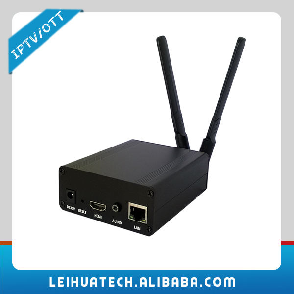 H.264 Wireless Video Transmit LAN/WAN IPTV System Cheap Solution Encoder+Streaming Softaware+APK Tailor+Android Decoder