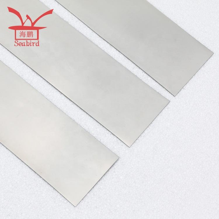 Quality products cheap medical titanium sheet shape memory nitinol plates superelastic