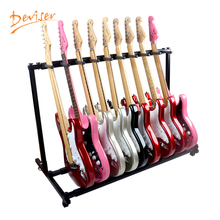 Professional multi guitar rack stand for electric guitar