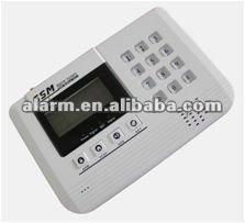 Display LCD wireless home gsm intruder sistema de alarme 868 MHZ