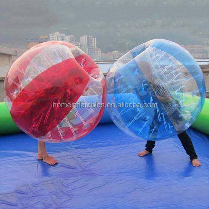 Guangdong Manufacturer Clear Air Bubble Ball Soccer ball For Gift