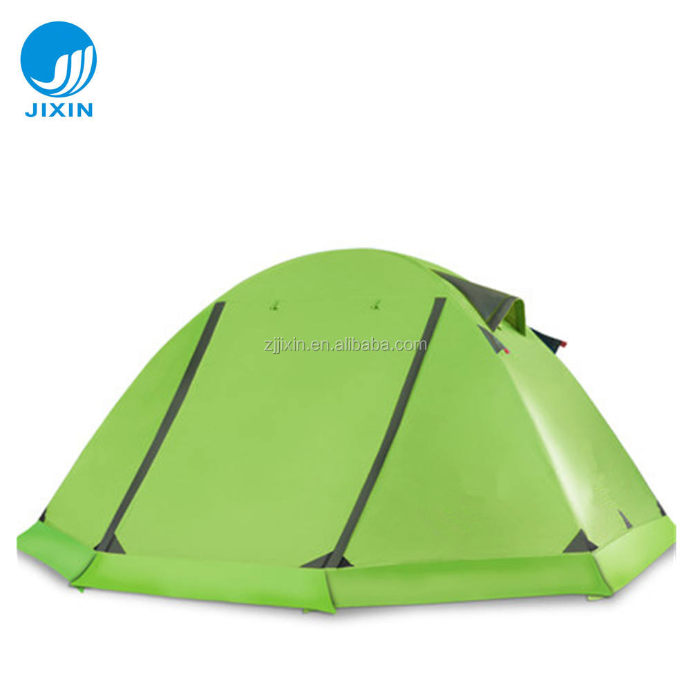 Hot Sale Winter Windproof Outdoor Folding Camping Tent with snow dress for snow mountain