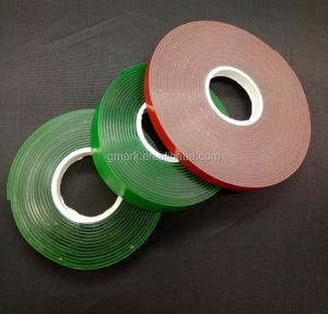 double side tape acrylic foam silicone adhesive clear tape, transparent tape