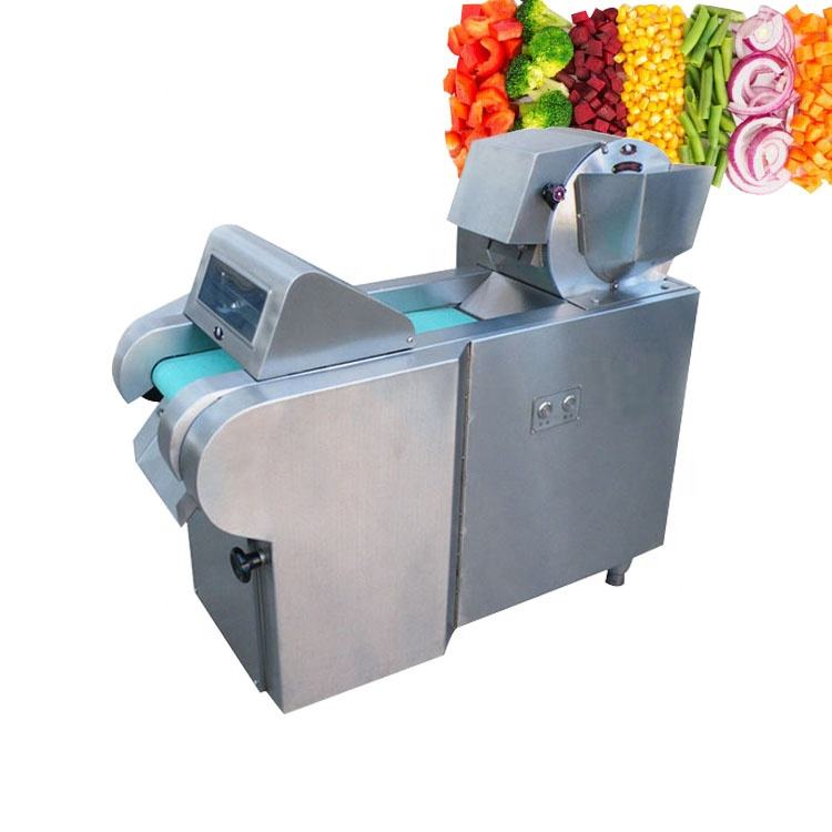 Industrial electrical vegetable fruit potato carrot cutting slicing chopping dicing processing machine