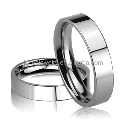 High Quality Polished Comfort Fit Cheap Wholesale Stainless Steel Blank Ring for Personal Engraving