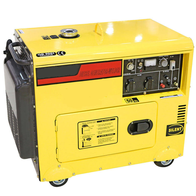 Best price high efficiency diesel engine generator 10kva small capacity generator