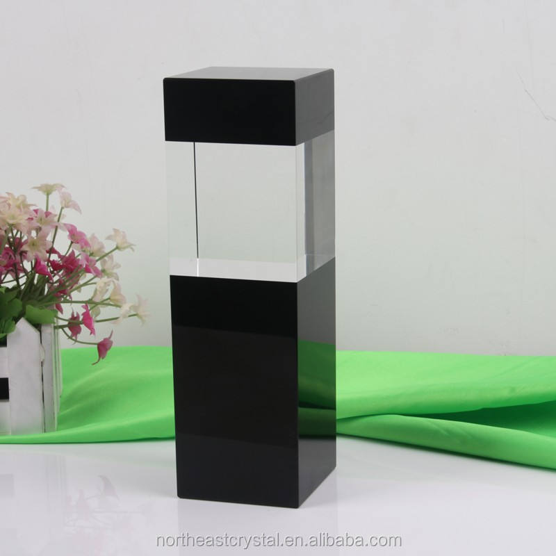 Wholesale Blank Crystal Glass Block Cube For Customized 2D 3D Laser Engraving