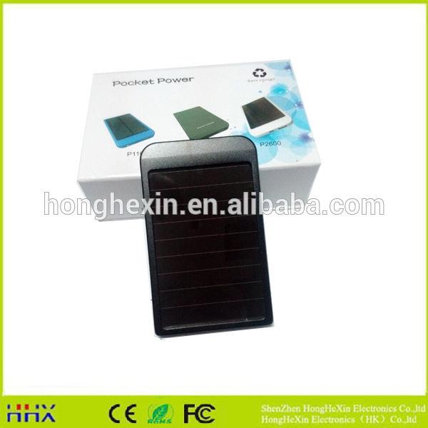 Neuankömmling solar-handy-ladegerät solarstrom bank ladegeräte tragbare solar-ladegerät