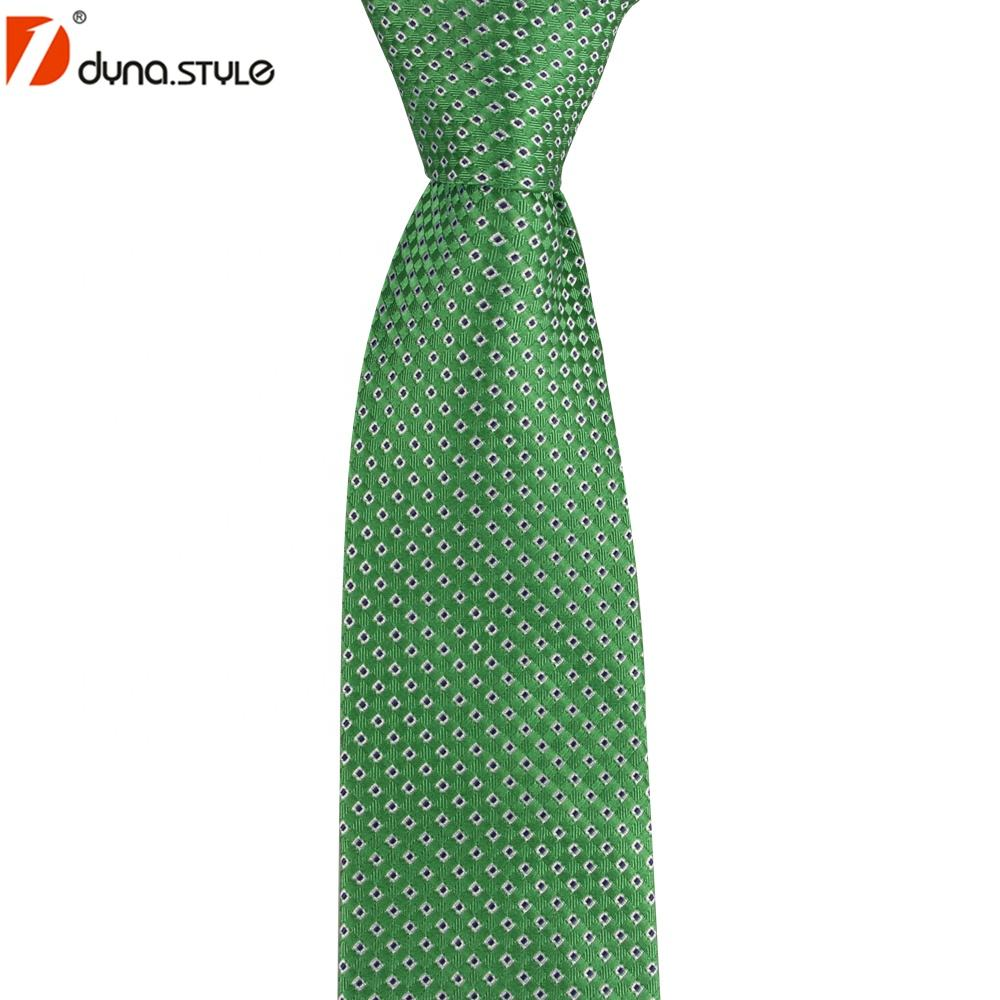 Top Quality Classic Style Navy Green 100% Real Silk Best Necktie Brands