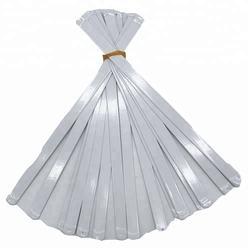 Flat steel bone for wedding dress accessories