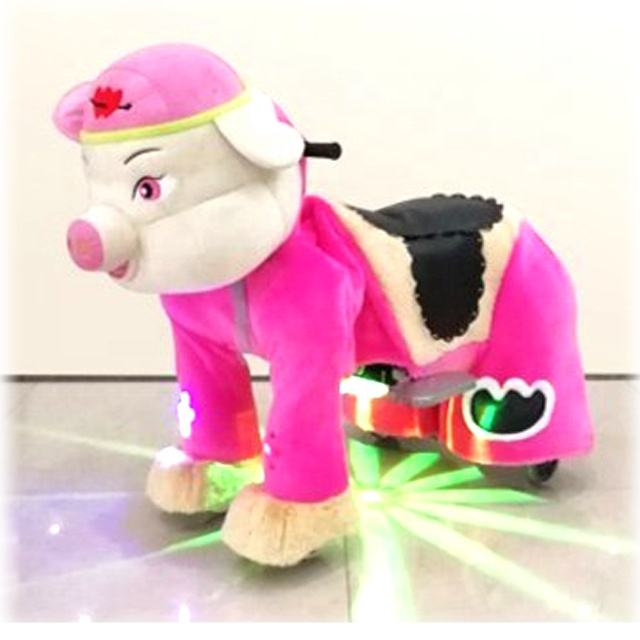 Luxury Hot sale cute animal ride on toys electric car for adults and children coin operated game for sales