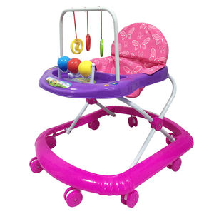outdoor simple model adjustable seat height cheap baby walker