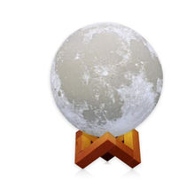 Goldmore moon lamp 3D Printing Rechargeable Moon Night Light of Dimmable Touch Control