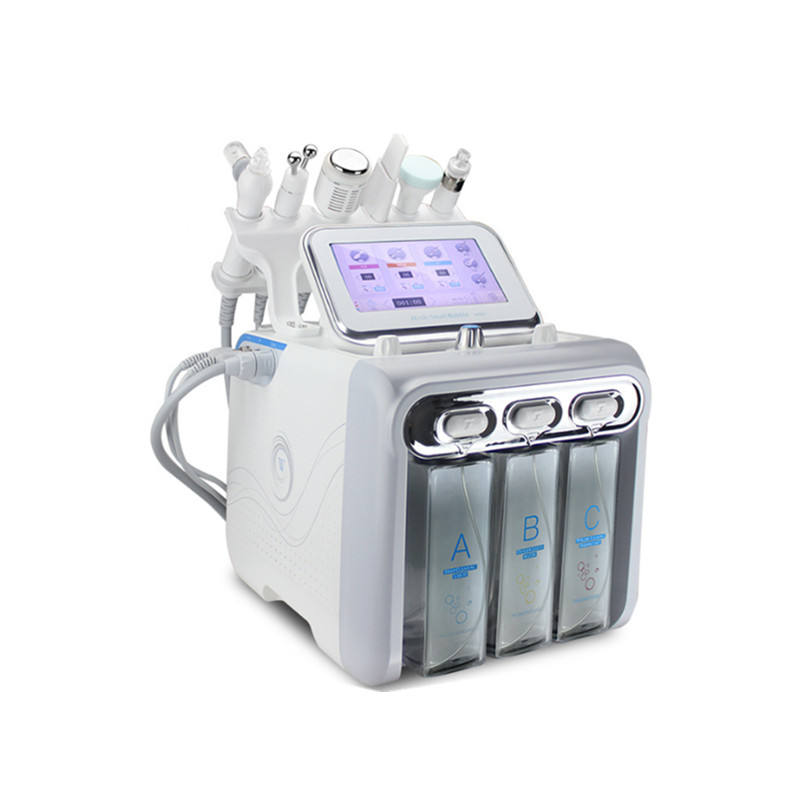 Microdermabrasion facial therapy skin cleaning H2O2 hydro facial Oxygen Jet Peel Waesen salon use beauty machine price
