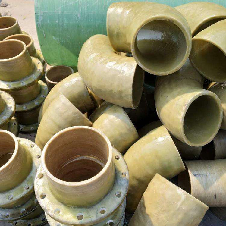 Polluted water collecting and transporting pipe frp fittings