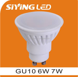 Ceramic Cover Led Bulb 7W 8W SMD Led Light GU10 Led Spot Light