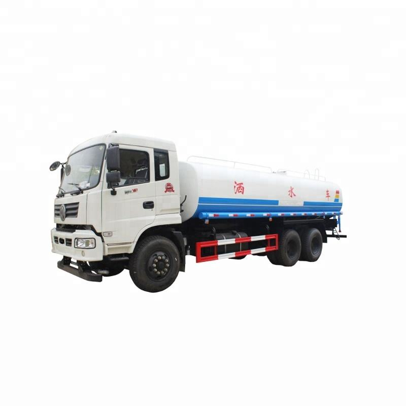15 Tons drinking water delivery euro 3 emission standard 2 axle 6000 gallon water tank truck