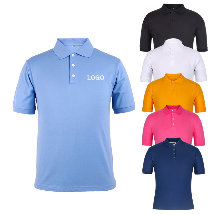 China factory short sleeve (high) 저 (quality 100 면 피케 design your own custom 망 polo shirt