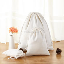 Wholesale cotton canvas christmas gift bag
