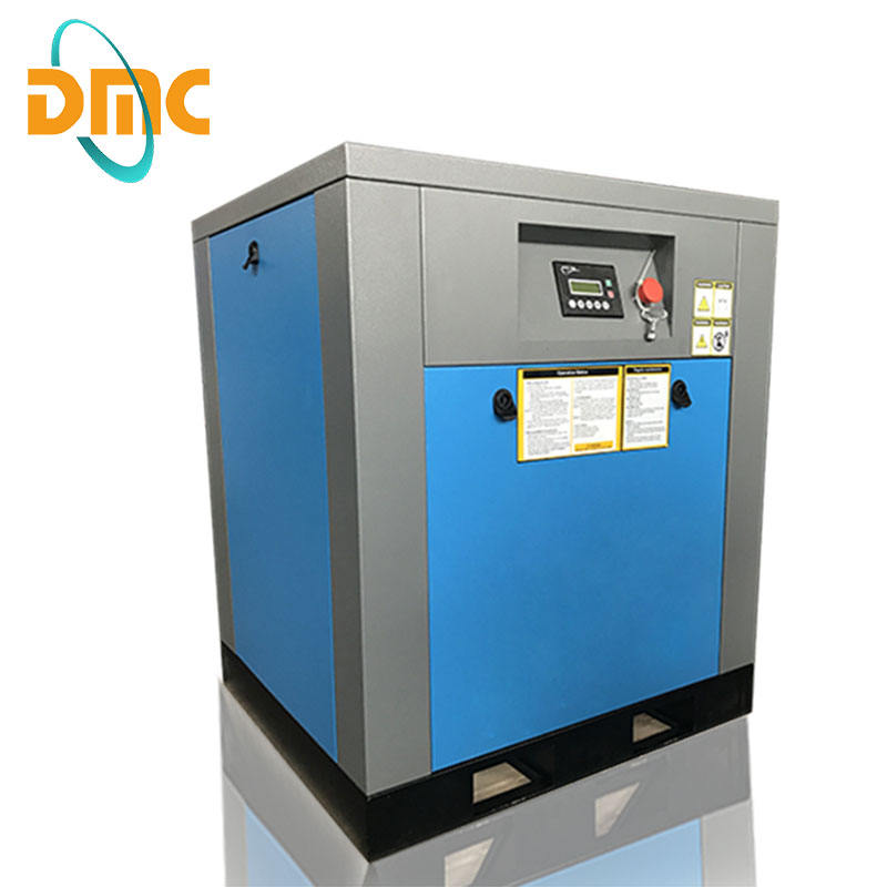 7.5kw 10hp rotary screw air compressor with air filter