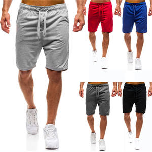 custom cotton fitness jogger shorts mens summer workout casual athletic shorts