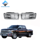 YZX For Chevy for Silverado for Tahoe for Suburban for Avalanche 2007-2013 Bumper Fog Lights Lamp Clear Lens 25883246 25883245
