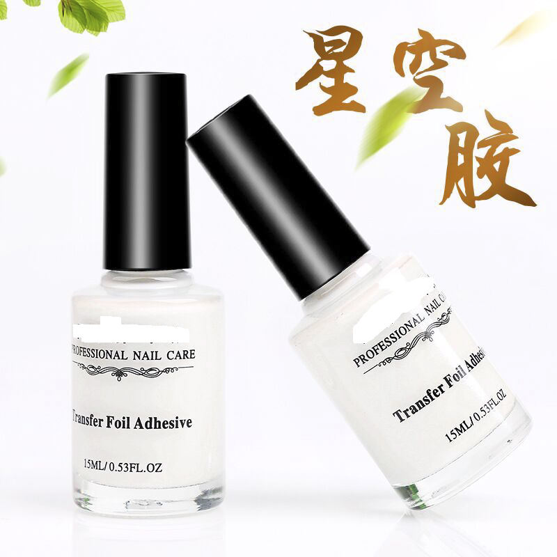 Wholesale 15ml Transparent Nail Foil Mastic Glue Star Glue For Nail Foils Transfer Paper Manicuring Nail
