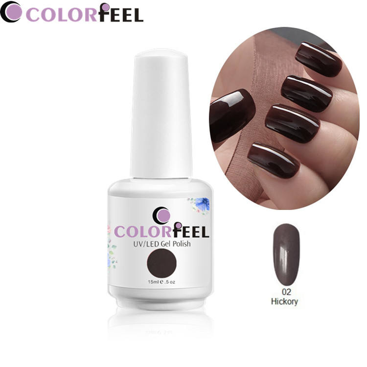 New arrival 2018 Plant Material 15ml Sparkle best gel polish uv gel nail colours nail enamel