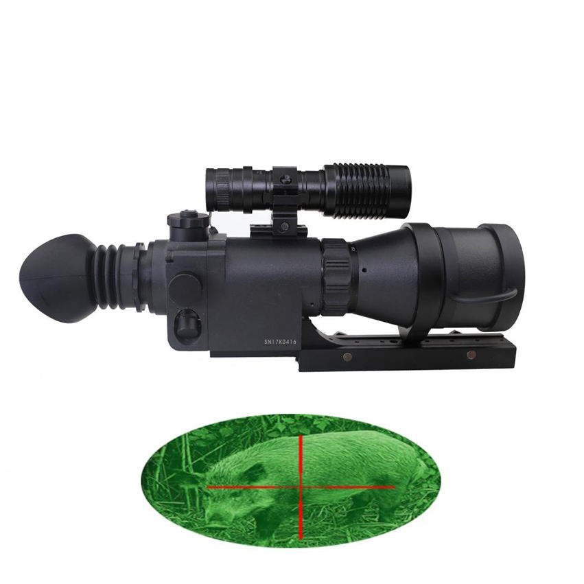SPINA OTTICA Ariete MK390 Optical Sight tactical 4x digitale di visione notturna monoculare