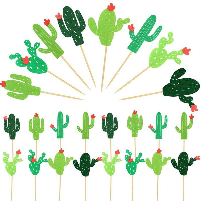 <span class=keywords><strong>24</strong></span> PCs Kaktus Cupcake Topper Cacti <span class=keywords><strong>Thema</strong></span> Party Baby Dusche Cupcake Geburtstag Party Dekorationen