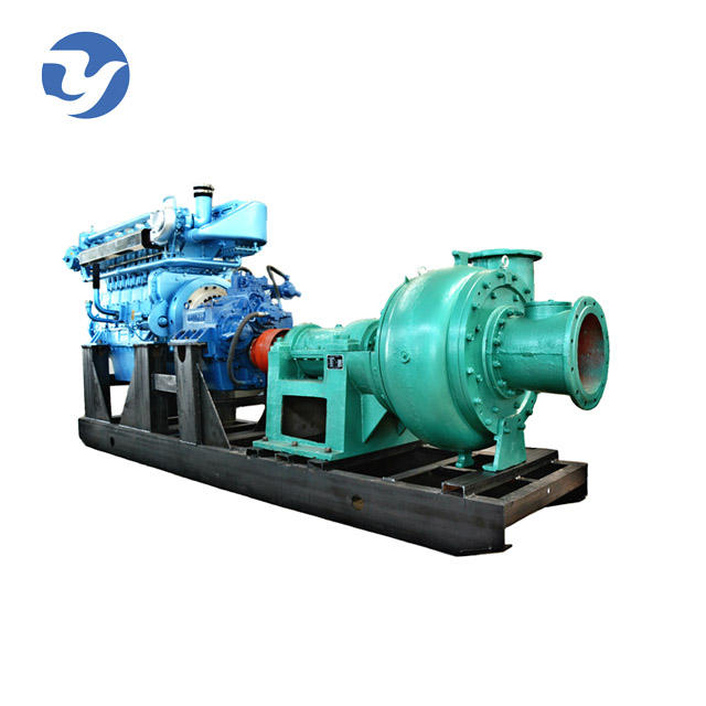 small river use diesel engine sand suction pump machine