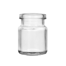bird's nest glass bottle 70ml glass jar