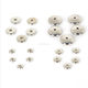 Opp Bag [ Beads Spacer ] CCB Beads Spacer Flat Disc Metal Beads