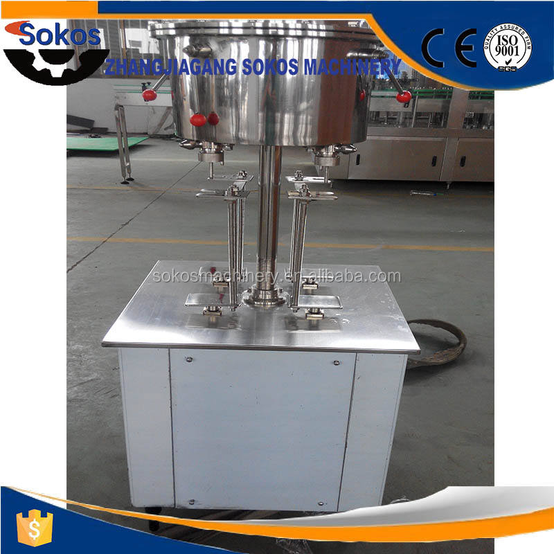 beer bottle carbonated drink filling machine semi automatic