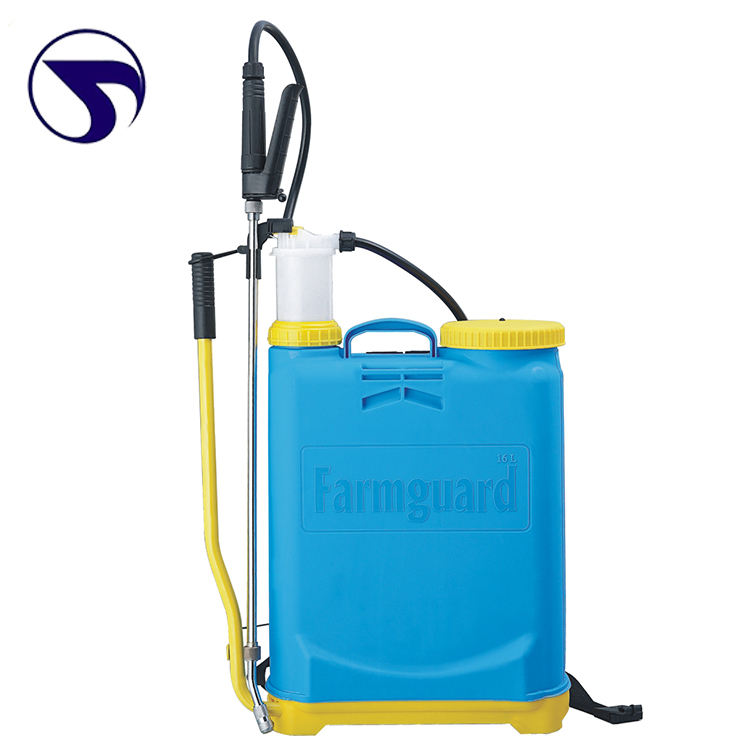 agriculture Knapsack Operated Pressure Manual Sprayer, Plastic Manual Pressure Sprayer