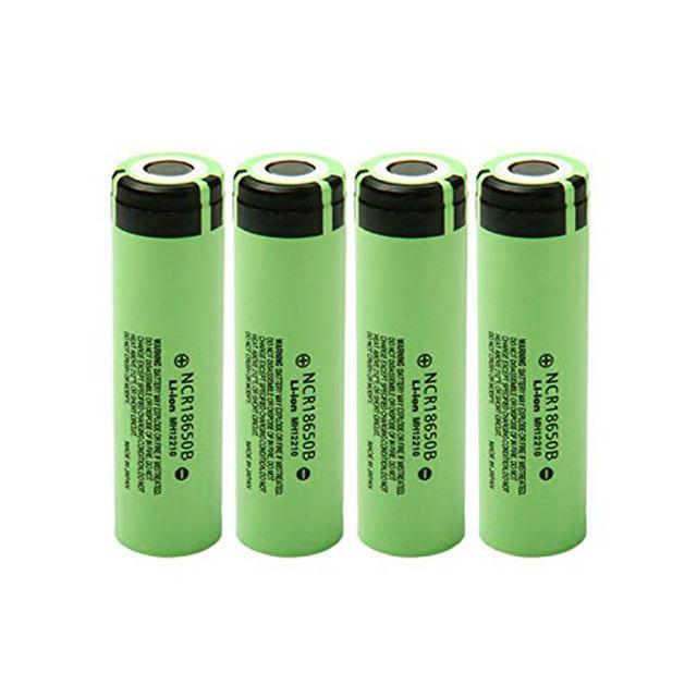 Brand new NCR 18650B 3400mah 3.7v high discharge Li-ion battery 18650 mod battery