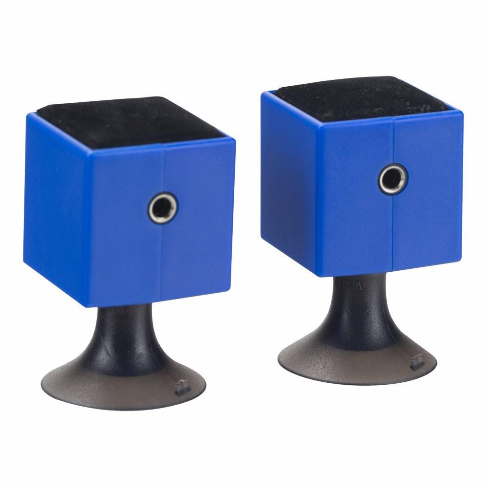 del Logotipo Gecen 2 Maneras Divisor Del Auricular, 3.5mm Auriculares Divisor de Audio Con Soporte Del Teléfono