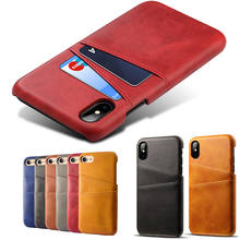 High Quality Genuine Leather Wallet Phone Case With Card Slot Luxury Real Leather Phone Case For iPhone