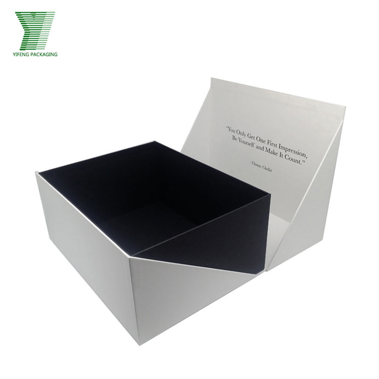 Wholesale high quality luxury cardboard magnetic custom packaging baby shoe sneaker boot paper box for sale with silk insert