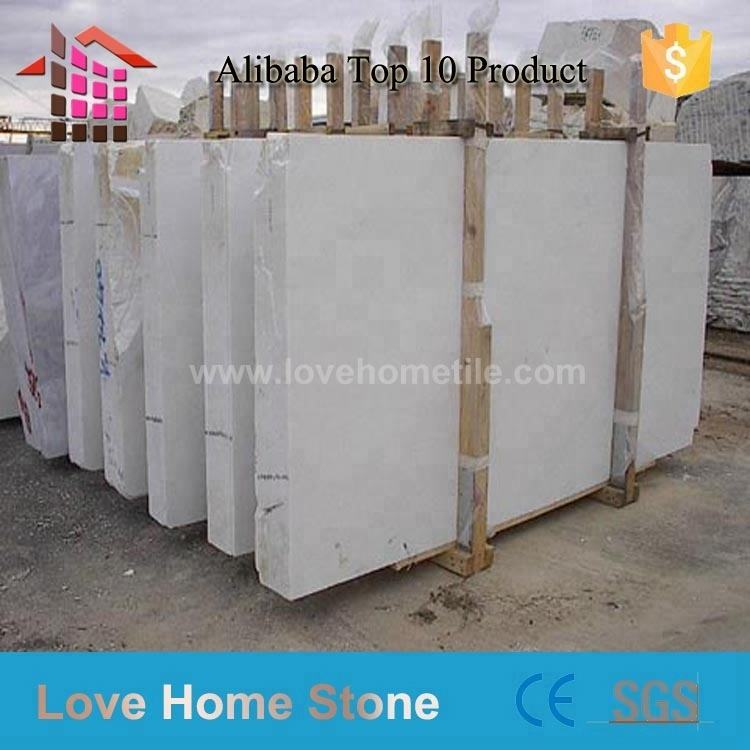 Large number of spot white marble tile for bathroom