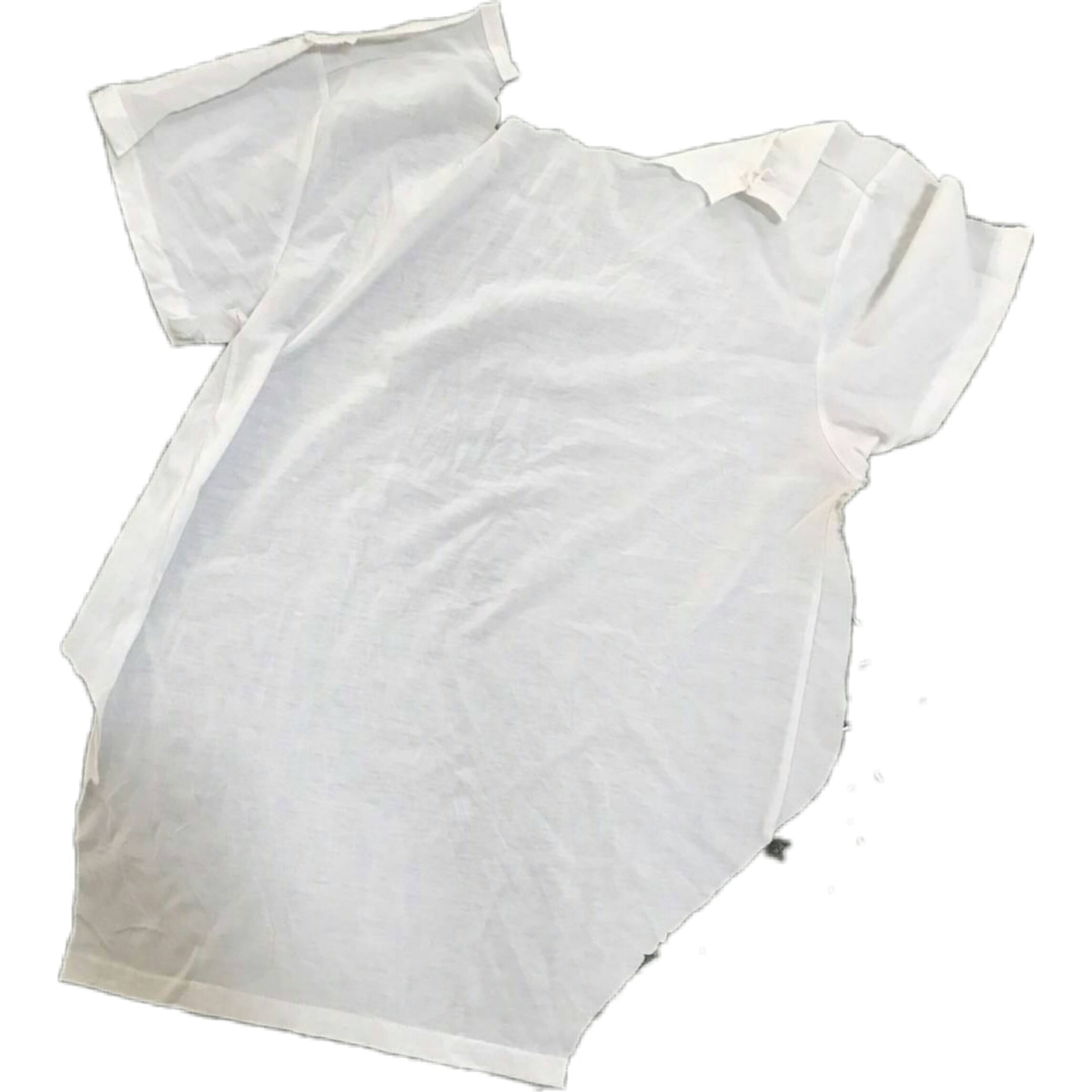100 pieces of white cotton T-shirt rags are suitable for industrial cleaning and have good oil and water absorption capacity