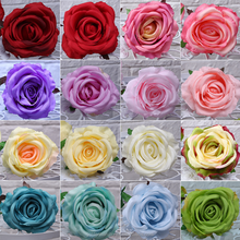 Flower Wall Making 10cm Silk Rose Flower Heads