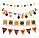 China halloween wholesaler cheap halloween paper cloth signs decoration