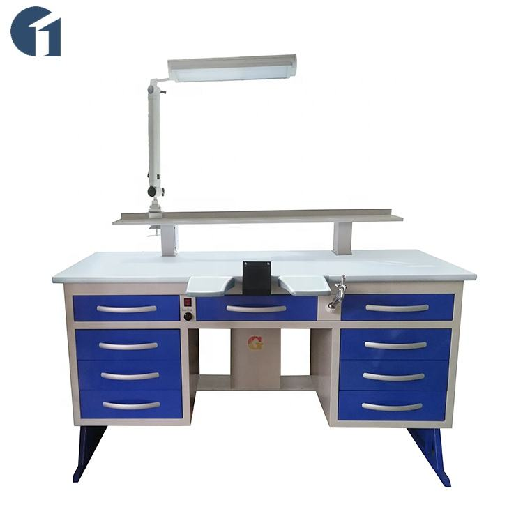 Foshan cheap dental lab equipment price list electric technician workbench