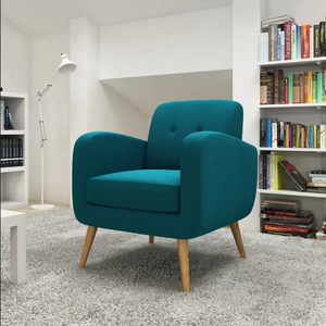 Modern Upholstery Fabric Lounge Accent Chair for Living room