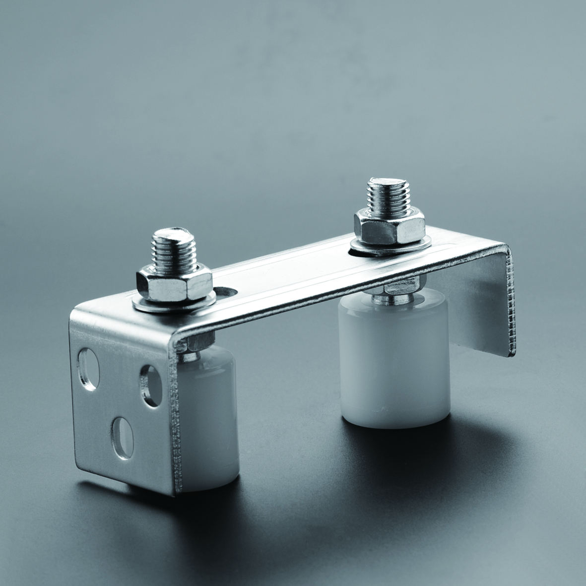 Guide Bracket with Nylon Roller Bracket with 2 wheels Jinnaike Hardware SGS ISO